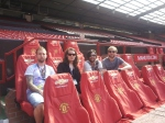 The day we visited Old Trafford