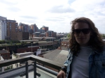 The view from our Manchester digs