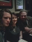 Me, Lucy and Nath at Hard Rock Cafe Edinburgh