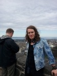 Me and the lovely Kelly Anne-Gower took a trip to Edinburgh Castle