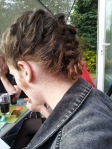 The day James Evans decided to randomly french plait my hair...